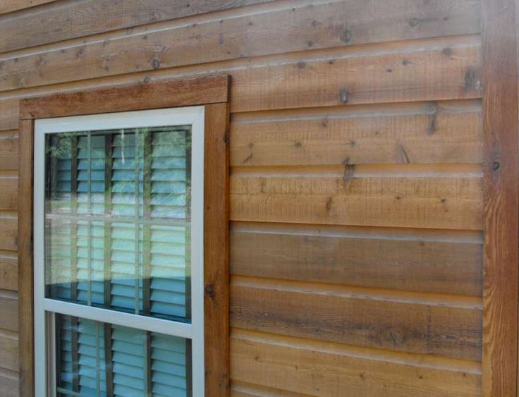 Rustic Wood Siding | Dutch Lap Siding * Dutch Lap Siding Cedar Home Pictures (this but thicker)