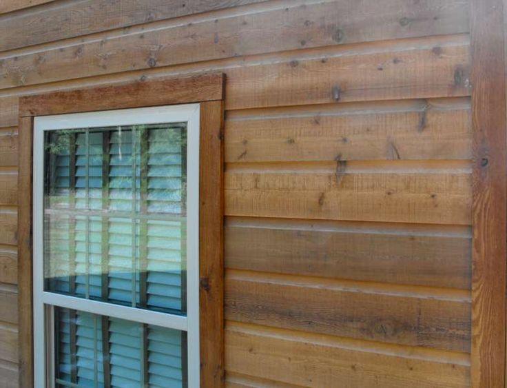 Rustic Wood Siding | Dutch Lap Siding * Dutch Lap Siding Cedar Home Pictures (this but thicker)