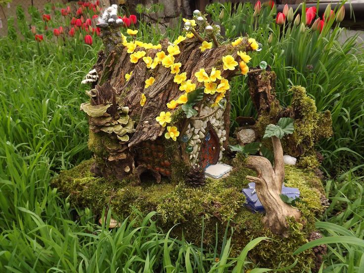The first fairy house! For sale!