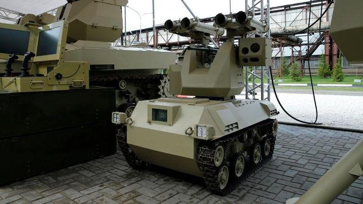 Kalashnikov to Demonstrate AI-Controlled Combat Robots