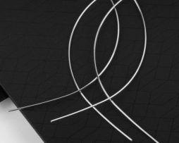 Luxusné jednoduché naušnice strei