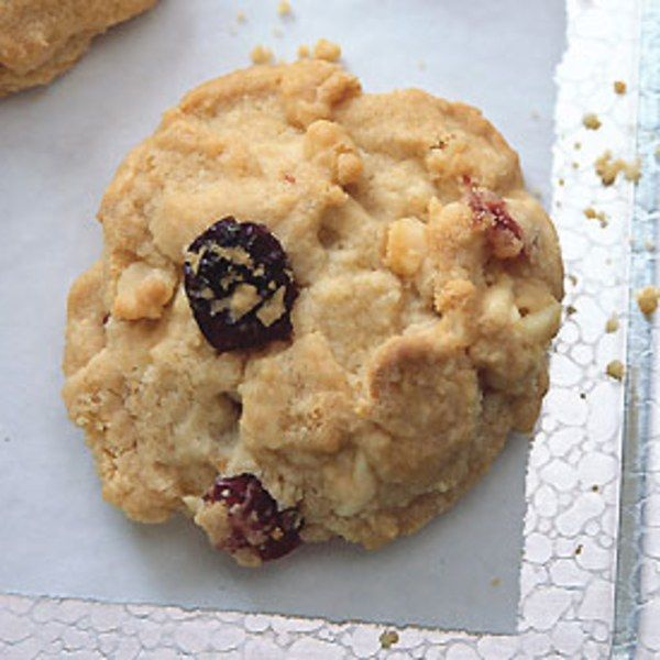 White Chocolate, Cranberry, and Macadamia Nut Cookies.  *I have added mini chocolate chips.
