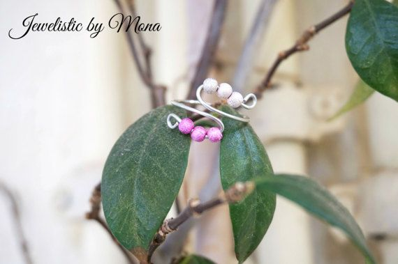 Elegant and dainty adjustable silver plated by JewelisticbyMona