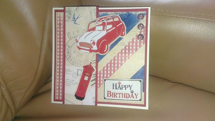 BIrthday Card (do-crafts papers & embellishments)