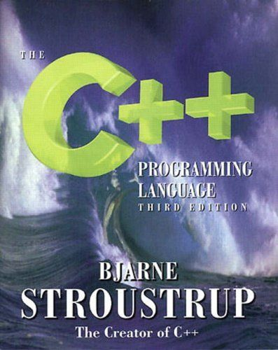 The C++ Programming Language: Third Edition by Bjarne Stroustrup, http://www.amazon.co.uk/dp/0201889544/ref=cm_sw_r_pi_dp_TB0Jtb016WTJH