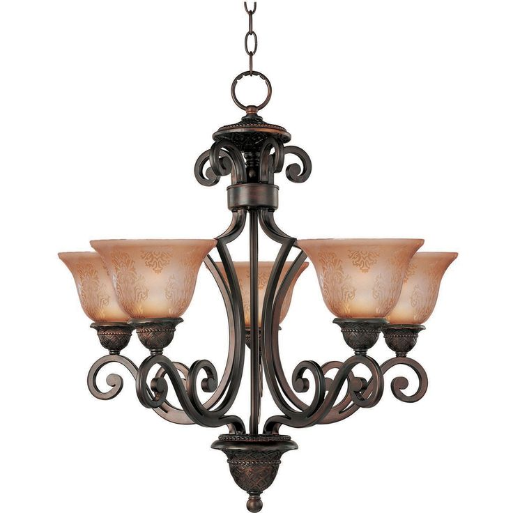 Lovely The Symphony Five Light Mediterranean Chandelier Works With Any Style Of  Decor. Featuring Stunning