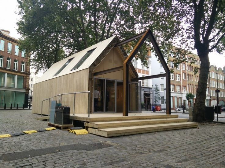 A building designed and constructed out of fully re-useable components, is being showcased as part of the London Design Festival to demonstrate how circular economy thinking can be applied to the built environment. Developed by Arup, Frener