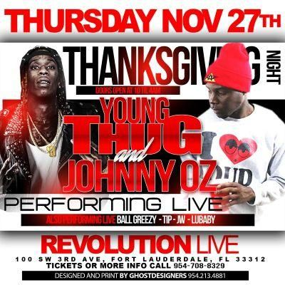 Young Thug with Johnny Oz and Lubaby