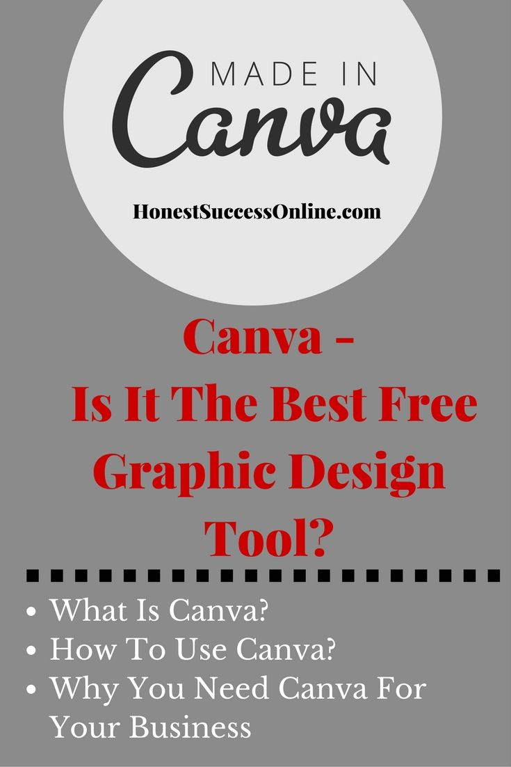 Canva is a fantastic graphic design software to create stunning designs. It's essential for every blogger and online entrepreneur. Best of all - it's free to use!