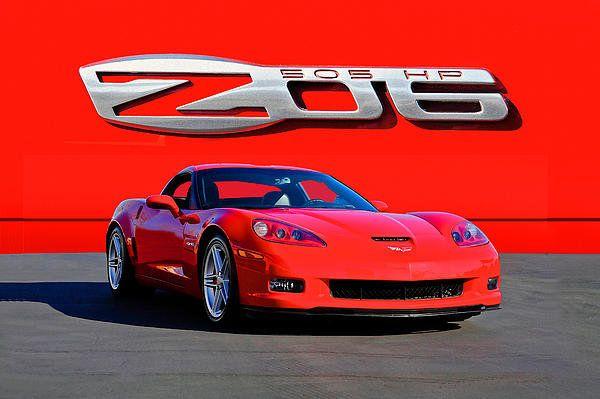 2006 Corvette Z06 427 Print By Dave Koontz
