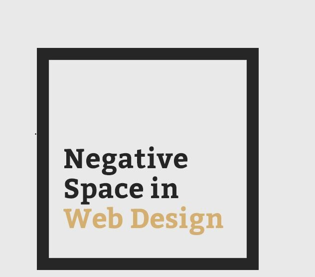 Why Web Designers Using Greater Negative Space?