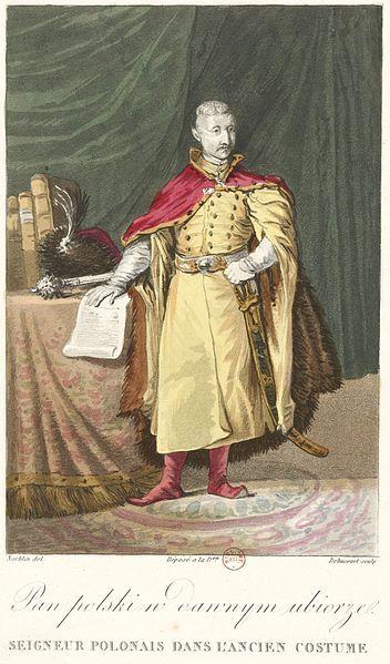 File:Norblin - Seigneur polonaise dans l'ancien costume.jpg
