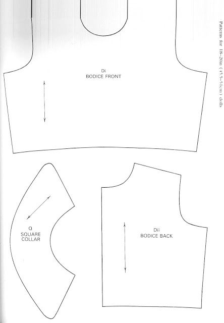 It's just a photo of Transformative Free Printable Doll Clothes Patterns