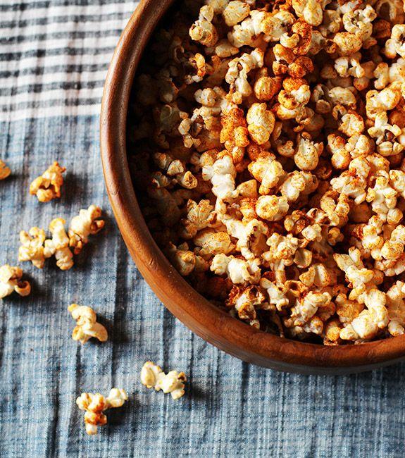 Bourbon Salted Caramel Popcorn
