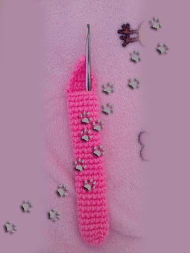 Para guardar las herramientas de crochet  (para ver más ir al blog)  #crochet #ganchillo #lana #diy