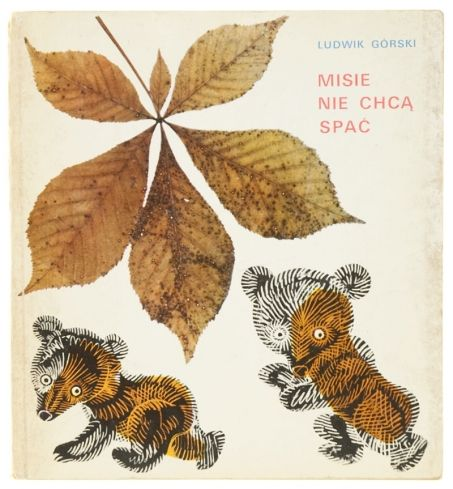 "Illustration by Adam Kilian for ""Misie nie chcą spać"""