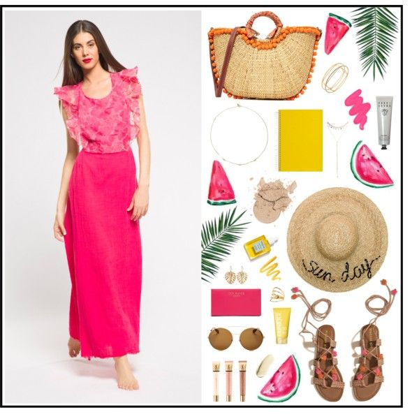A fashion look from July 2017 by Met Jeans #met #metjeans #polyvore #look #outfit #summer #style #fashion #woman #apparel