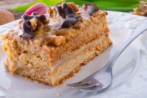 Walnoten taart recept | Taarten maken, taart bakken en cupcakes versieren | Taart recepten