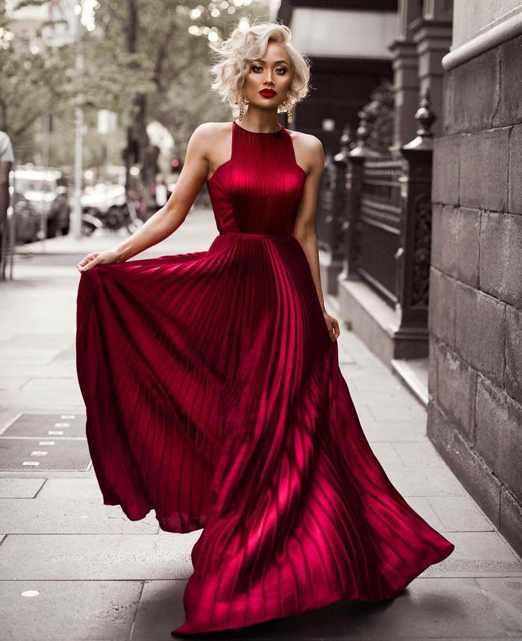 nice Элегантные атласные платья в пол (50 фото) — Как правильно носить в 2017? Читай больше http://avrorra.com/atlasnye-platya-v-pol-foto/