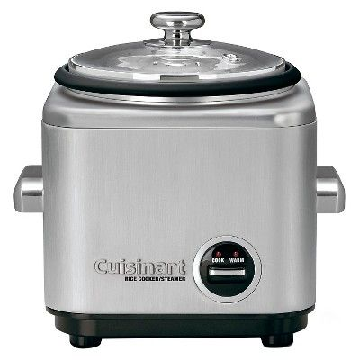 Cuisinart 4 Cup Electric Rice Cooker - Stainless Steel Crc-400, Silver