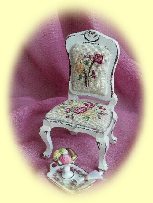 petit point chair