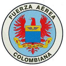 Parche de vuelo de la Fuerza Aérea Colombiana