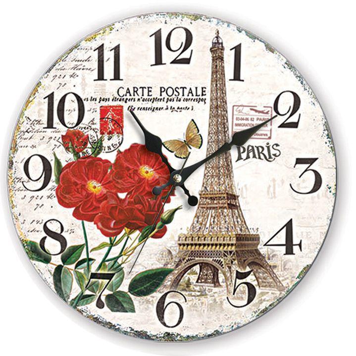 Paris Antik Ahşap Duvar Saati  Ürün Bilgisi;  MDF gövde Sessiz akar saniye Çap 35 cm. Çok şık ve dekoratif ahşap duvar saati Ürün resimde olduğu gibidir