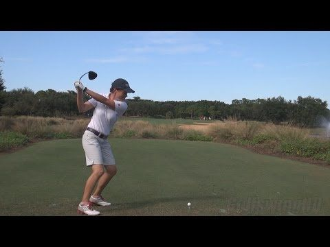 CATRIONA MATTHEW - GOLF SWING DRIVER DTL REGULAR & SLOW MOTION 1080p - YouTube