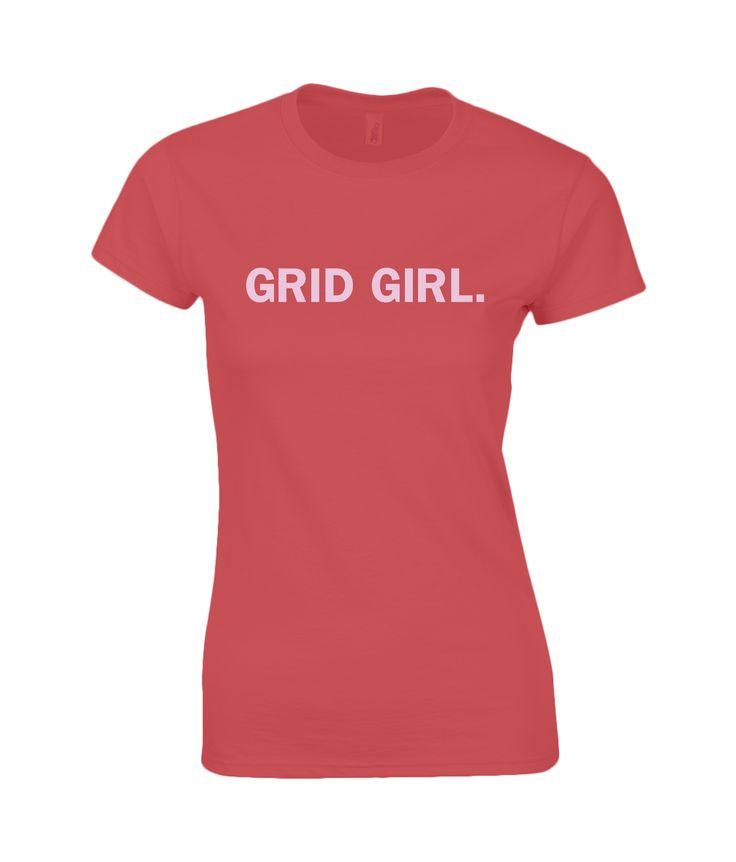 Grid Girl. (pink)