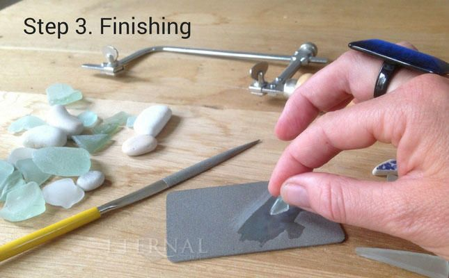 The 25 best surface finish ideas on pinterest gold for Broken glass crafts