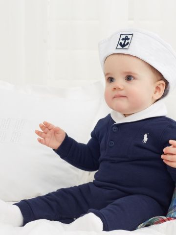 ralph lauren baby sailor too cute baby clothes. Black Bedroom Furniture Sets. Home Design Ideas