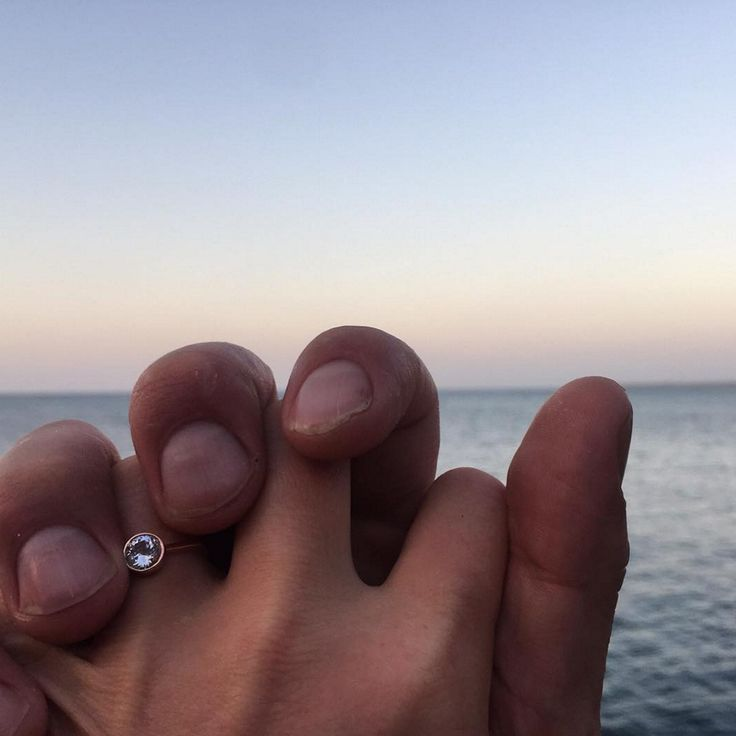 Julia Stiles' Engagement Ring Is a Minimalist's Dream Come True via Brit + Co