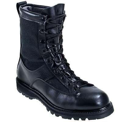 Matterhorn Boots Black USA Made Waterproof Combat Boots 1999