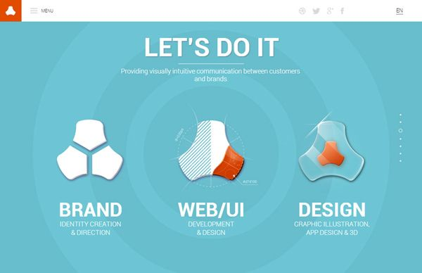 HTML5 Web Design – 25 Fresh Web Examples for Inspiration