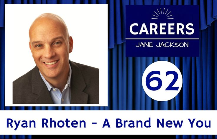 Ryan Rhoten is a #branding specialist - listen to his #career journey and find out how to create a brand new you!
