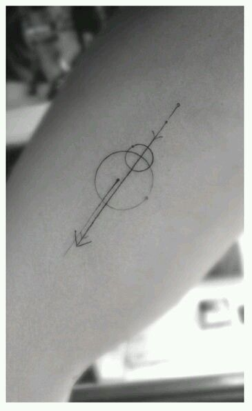 Simple but beautiful geometric tattoo.