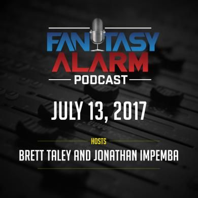 Fantasy Alarm Podcast: QB Boom or Busts! - Brett Talley