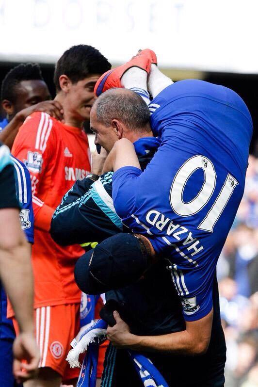 CHAMPIONS! #ChelseaFC #EdenHazard