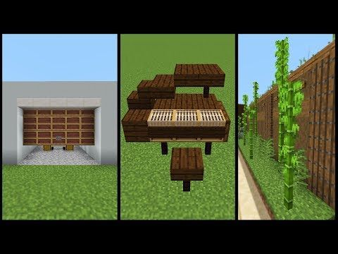 Minecraft 1 14 Tips And Tricks Minecraft Minecraft Furniture