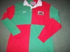 1990s Wales L/s Rugby Union Shirt Adults Large Jersey