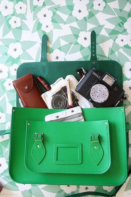 Crazy in love with these bags from the cambridge satchel co