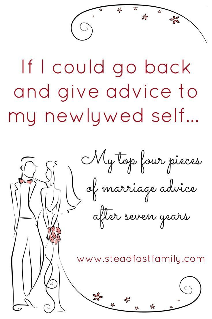 If I Could Go Back And Give Advice To My Newlywed Self 1 Of 4