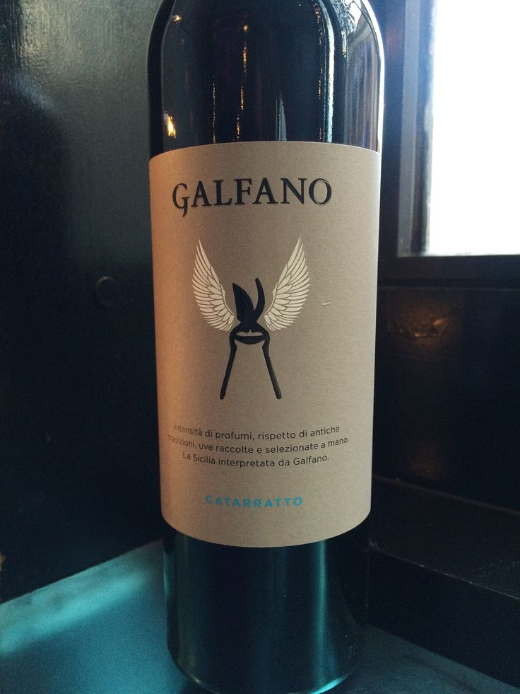 Catarratto, Galfano, Italy - Sicily. Aromatic, minerals, spice, exotic fruits. Great mouth.