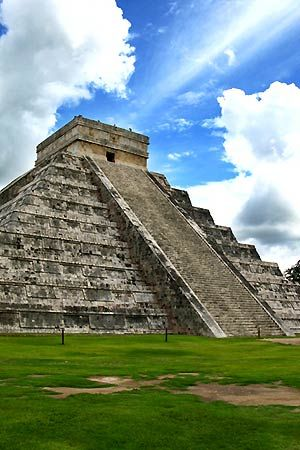 Chichen Itza, the largest pre-Columbian city built by the Mayans.