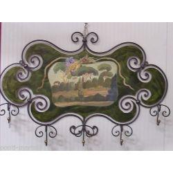 COAT wrought iron. Tuscan landscape. cm 100 x 70. 740