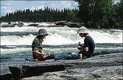 Missinipe, Otter Lake, La Ronge Provincial Park, Sask.