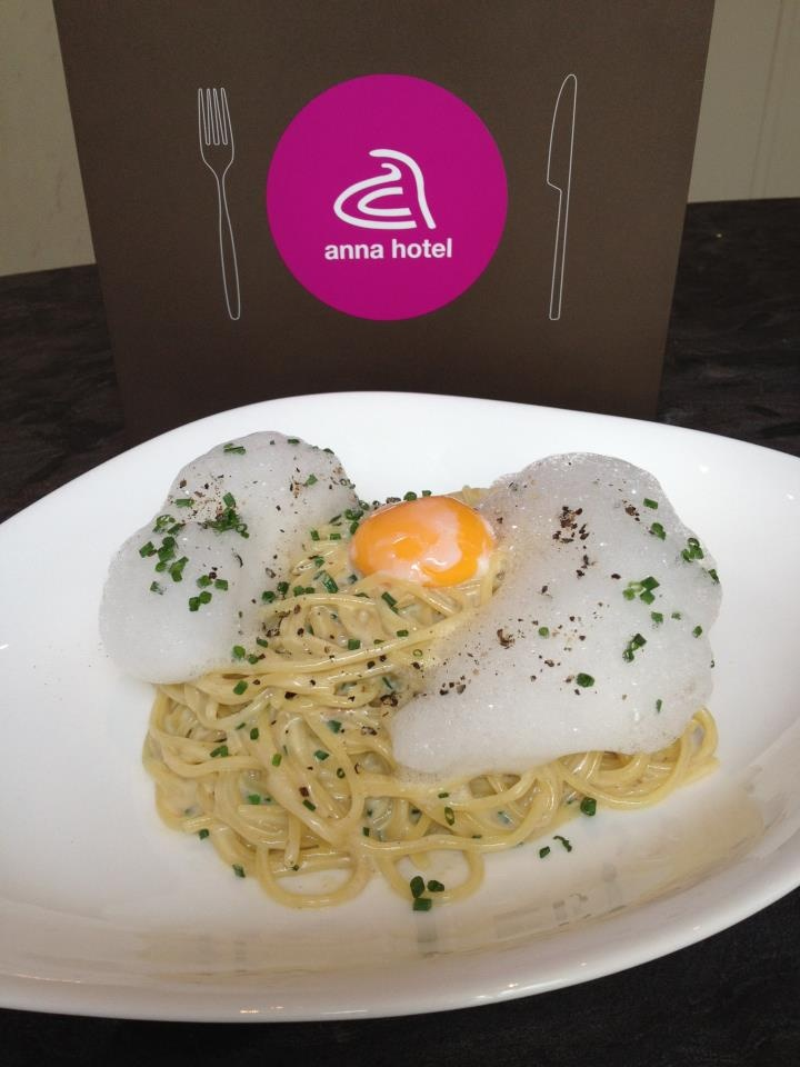 fried egg creation #anna #hotel #munich http://annahotel.de/en/