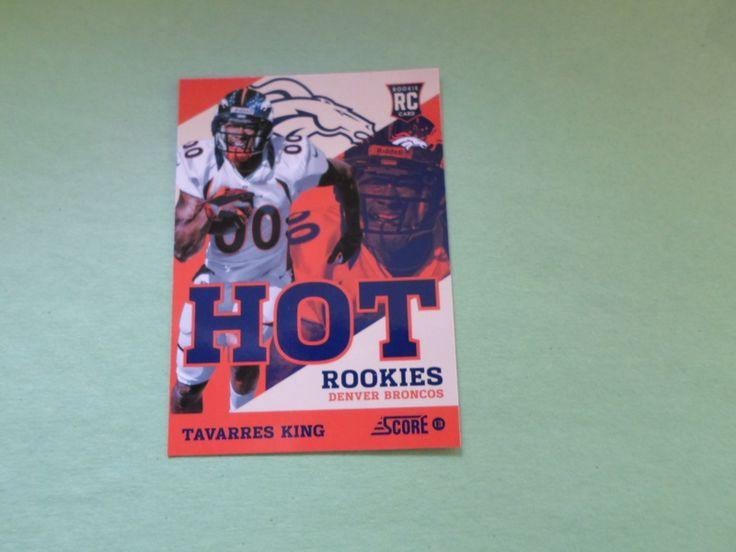 2013 score hot rc,s tavarres king # 33