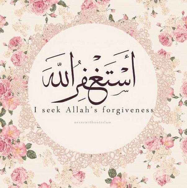"""""""Estağfirullah"""" """"Allah'dan mağfiret dileyin"""""""