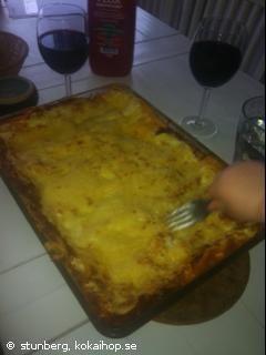Recept - Supergod och krämig lasagne
